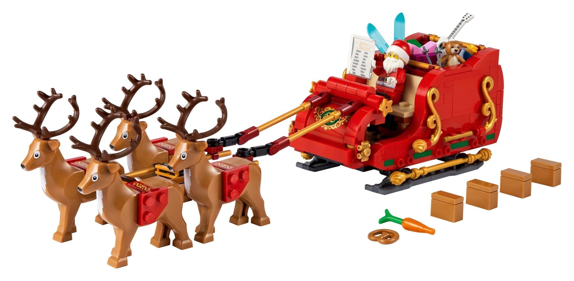 LEGO Seasonal 40499 Schlitten Des Weihnachtsmanns 1