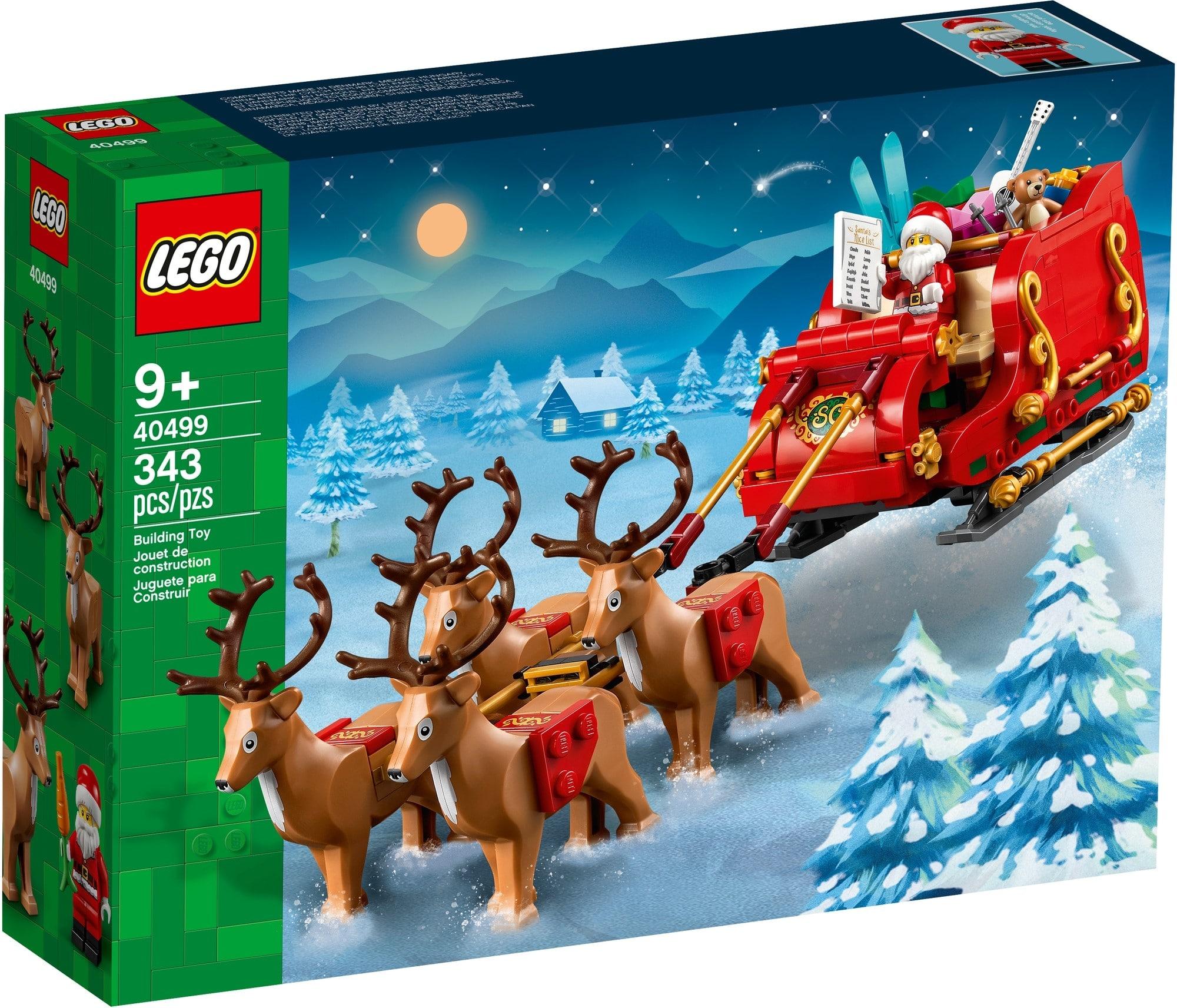 LEGO Seasonal 40499 Schlitten Des Weihnachtsmanns 2