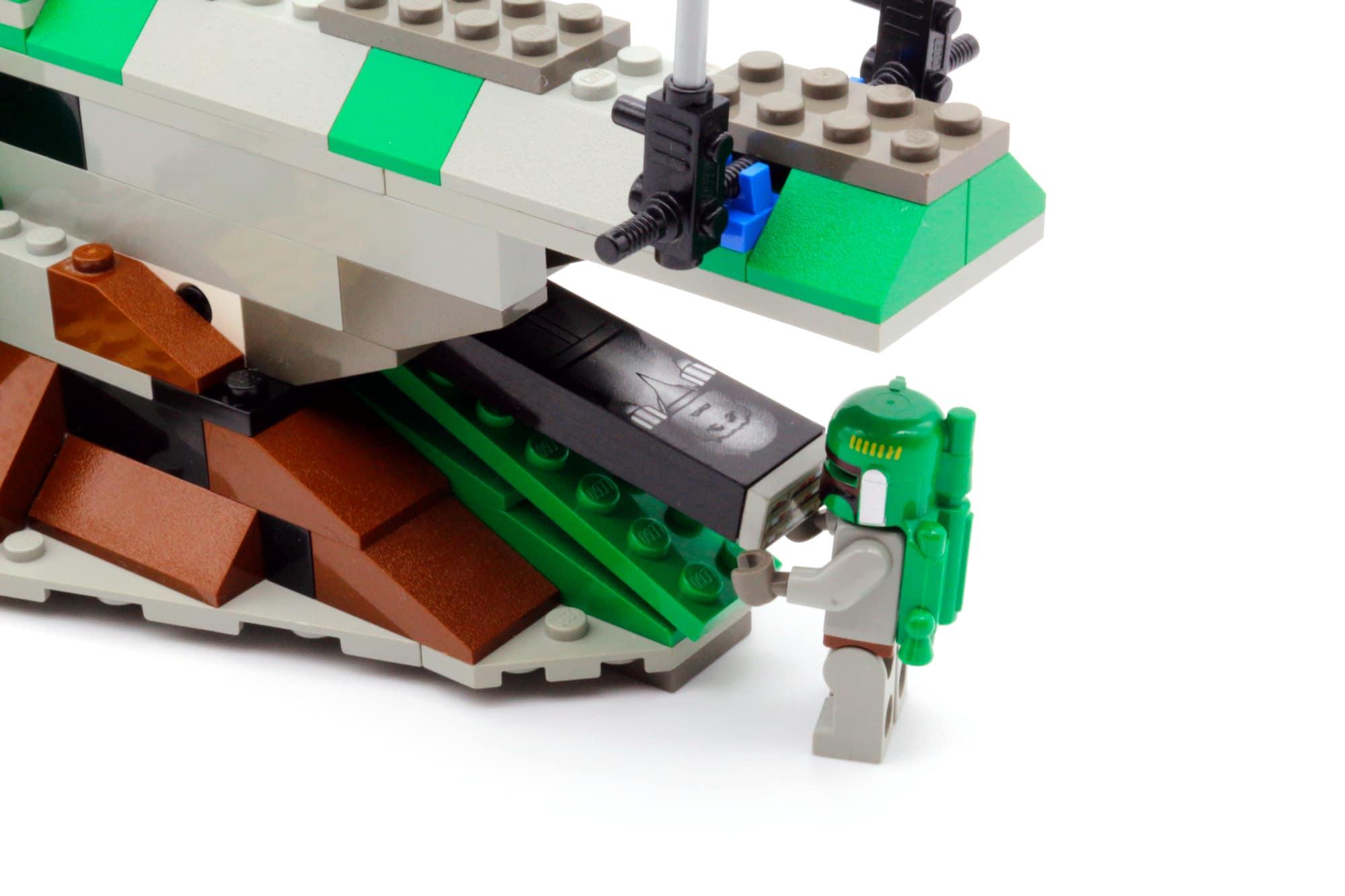 LEGO Star Wars 75312 Boba Fetts Starship 30