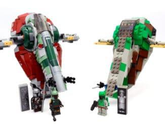 LEGO Star Wars 75312 Boba Fetts Starship Titelbild