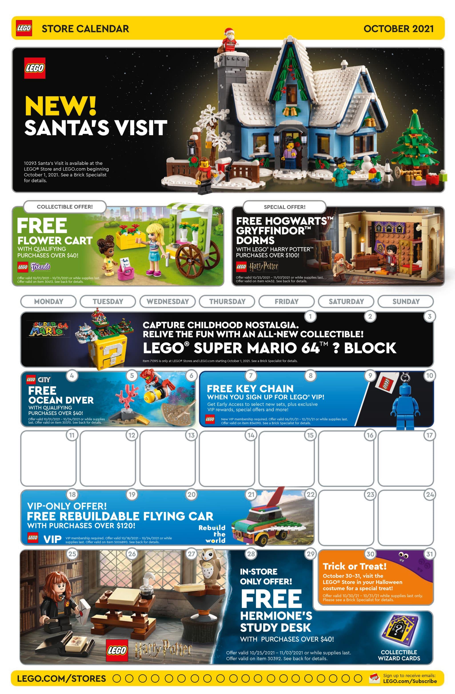 LEGO Store Flyer Oktober 2021 1