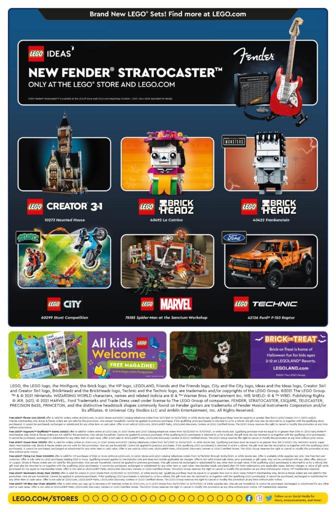 LEGO Store Flyer Oktober 2021 2