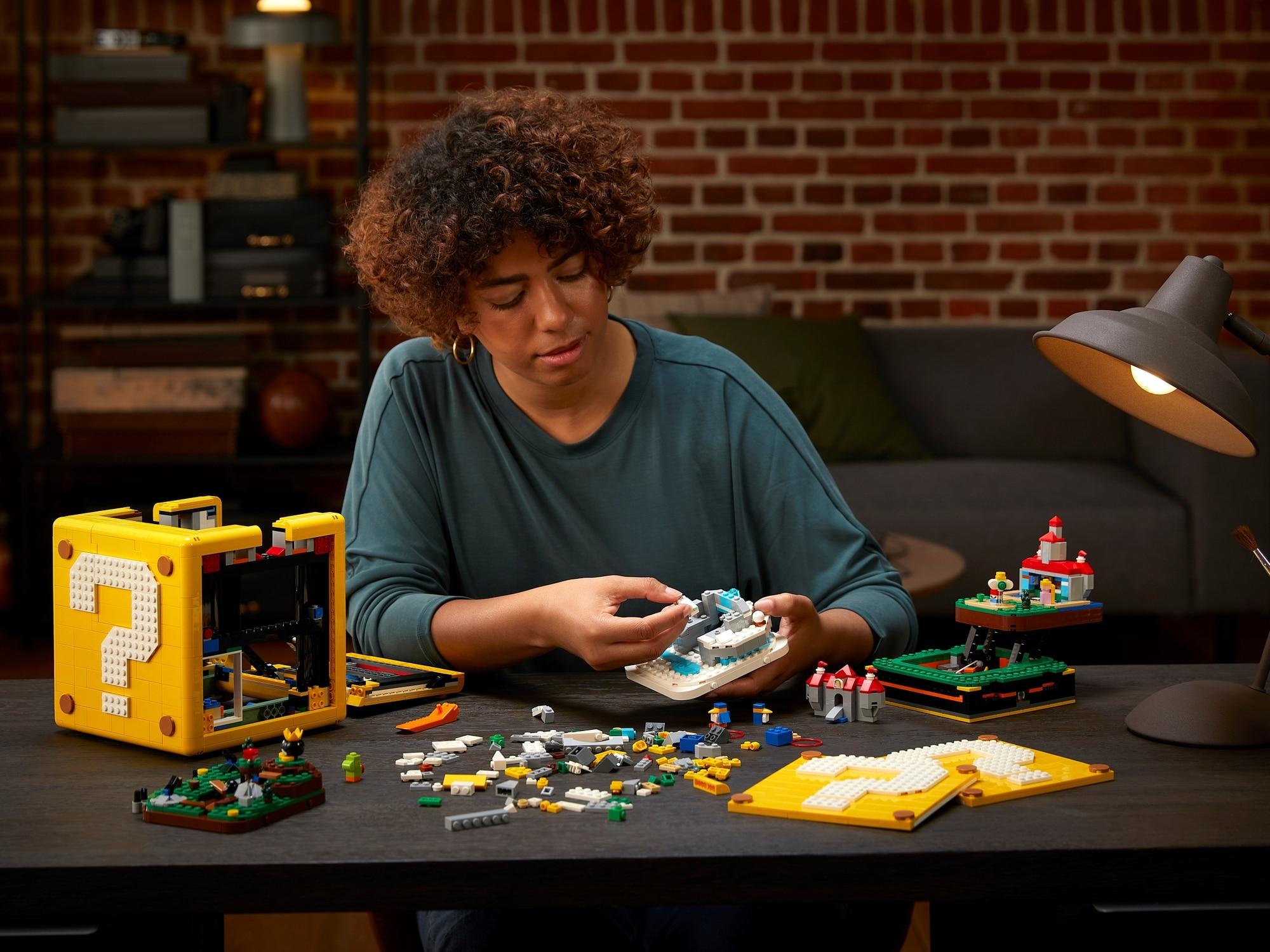 LEGO Super Mario 71395 Super Mario 64 Block Punto interrogativo 25