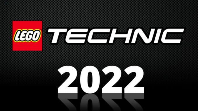 LEGO Technic Neuheiten 2022 Titelbild