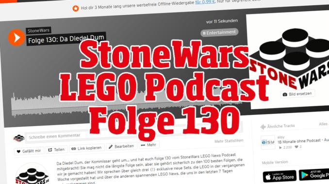 Stonewars LEGO Podcast Folge 130