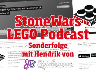 StoneWars LEGO Podcast Jb Spielwaren