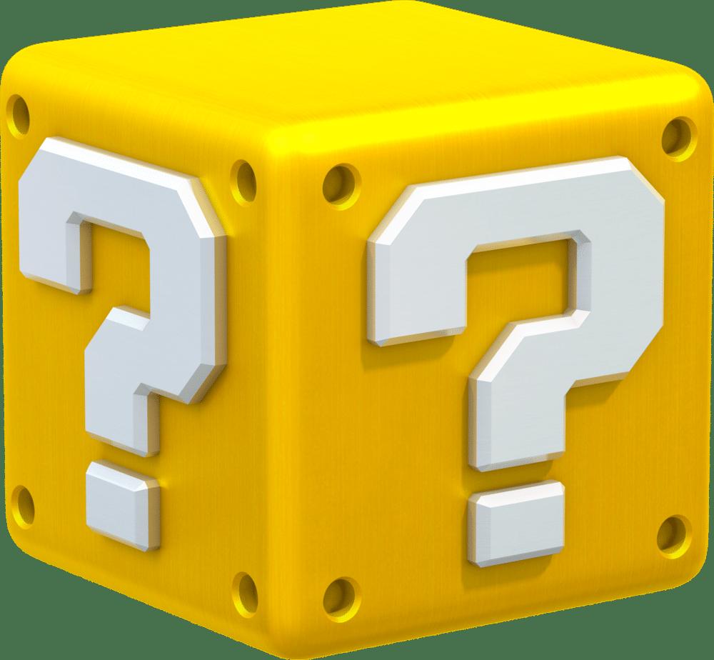 Super Mario Item Block
