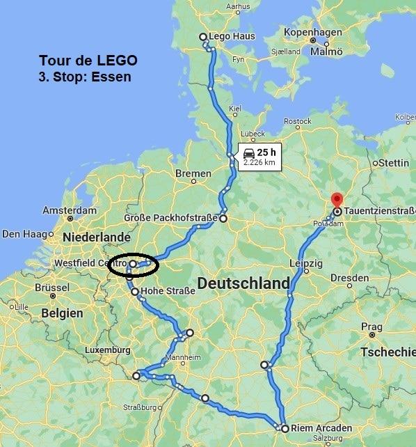 Tour De LEGO Route Essen 2