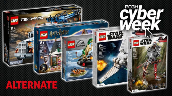 Alternate Cyberweek LEGO Angebote
