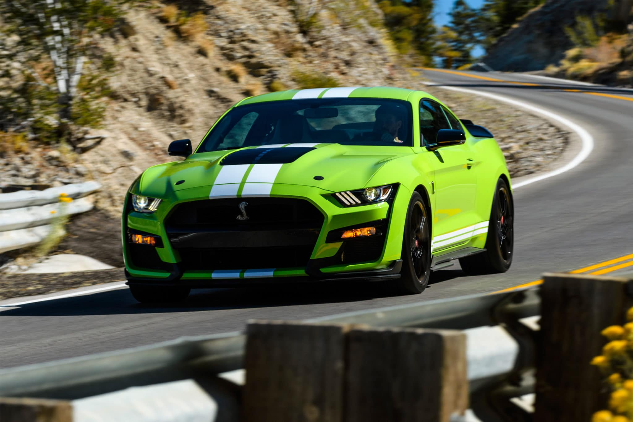 2019 Ford Mustang Shelby Gt500 Press Event Las Vegas