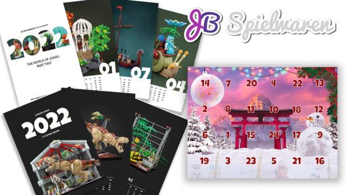 Jb Spielwaren Kalender 2022 Titelbild