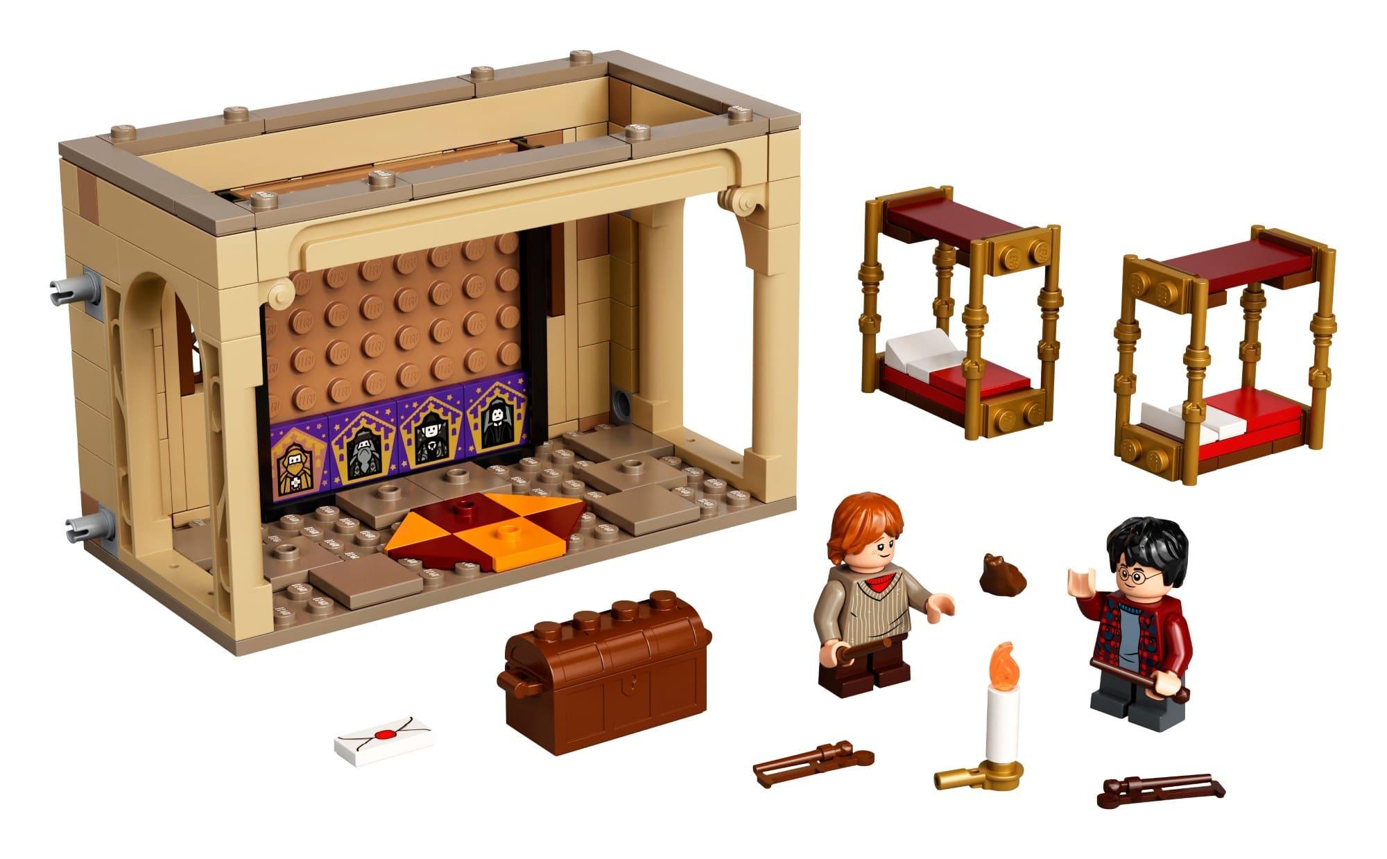 LEGO 40452 Hogwarts Gryffindor Schlafsäle 1