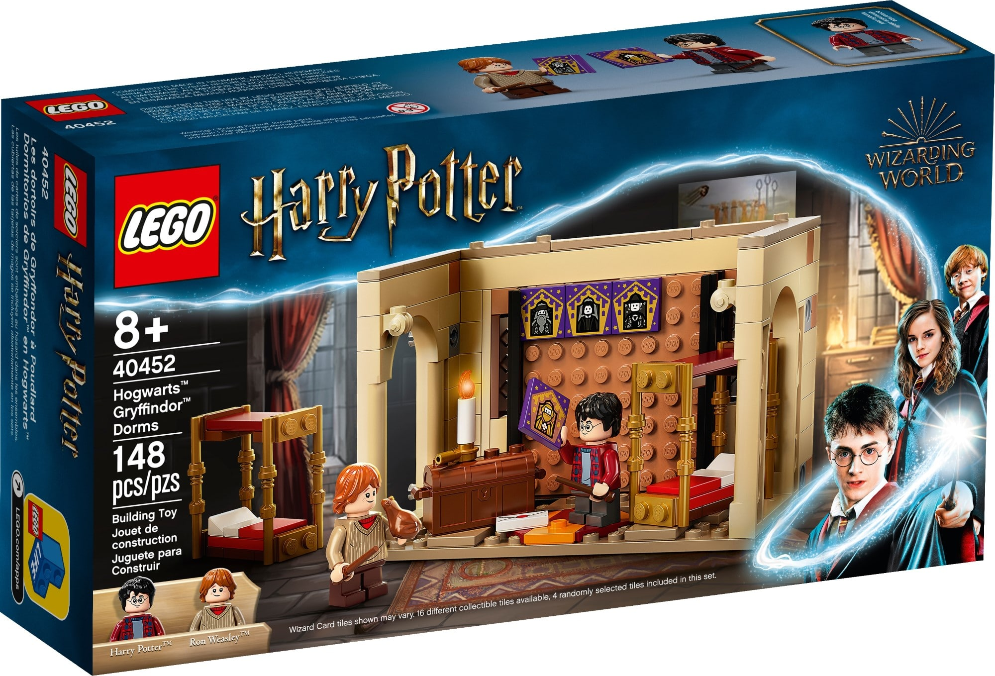 LEGO 40452 Hogwarts Gryffindor Schlafsäle 2