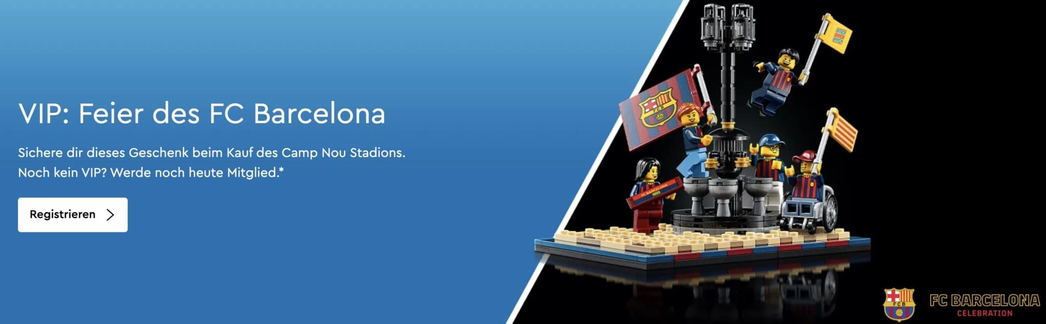 LEGO Aktion Feier Des Fc Barcelona