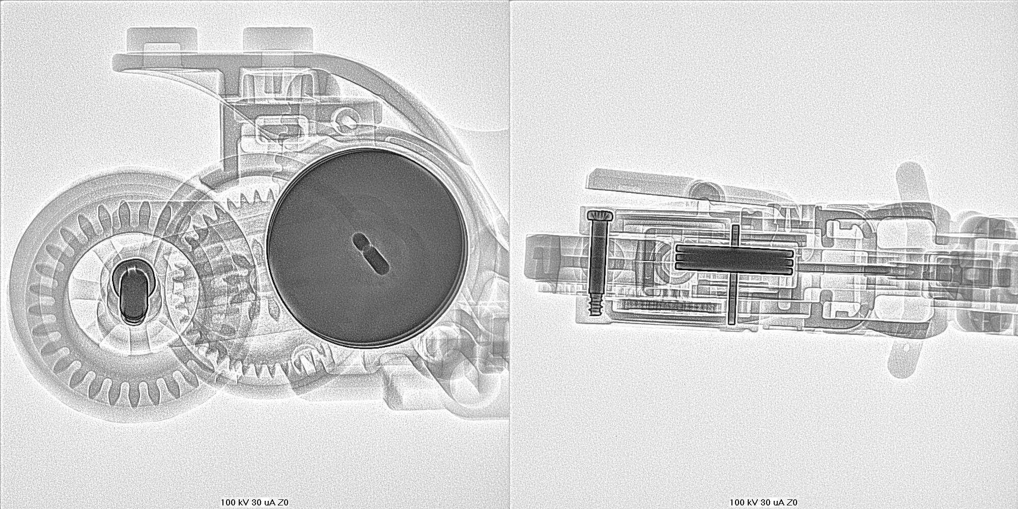 LEGO City Stuntz Motorrad Röntgenaufnahme