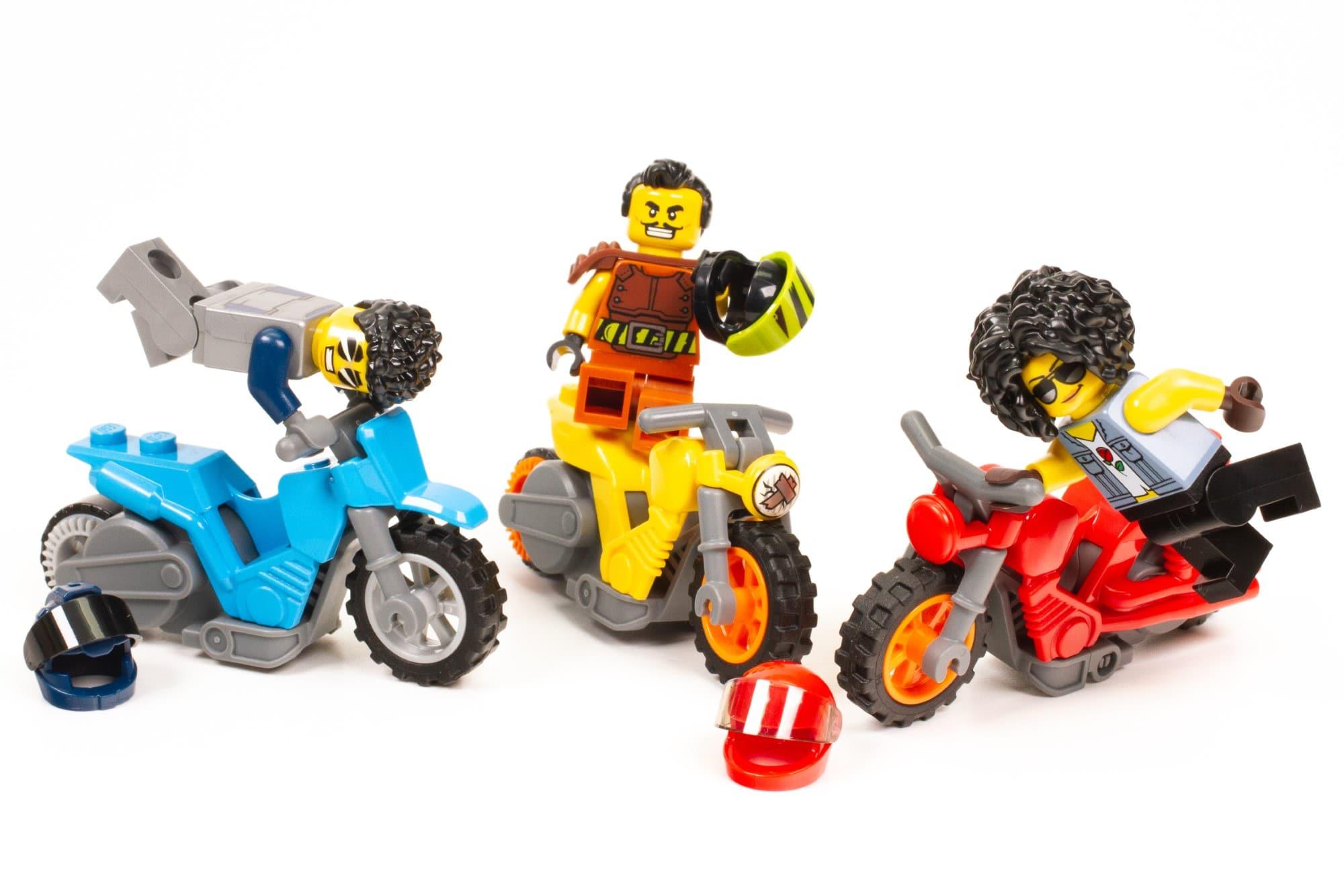 LEGO City Stuntz Praxistest Motorräder 3