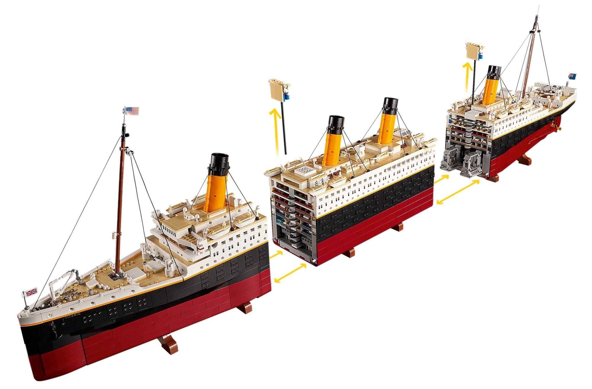 LEGO Creator Expert 10294 Titanic 8
