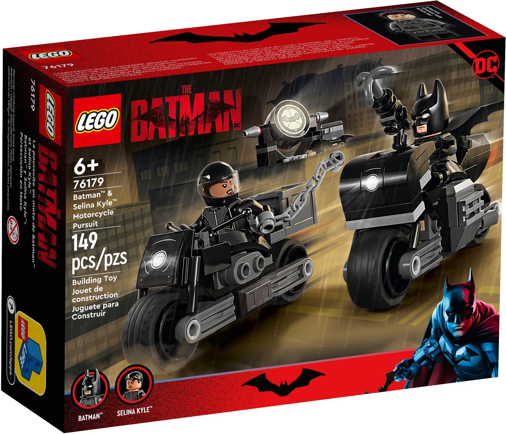 LEGO Dc 76179 Batman & Selina Kyle Verfolgungsjagdauf Dem Motorrad 2