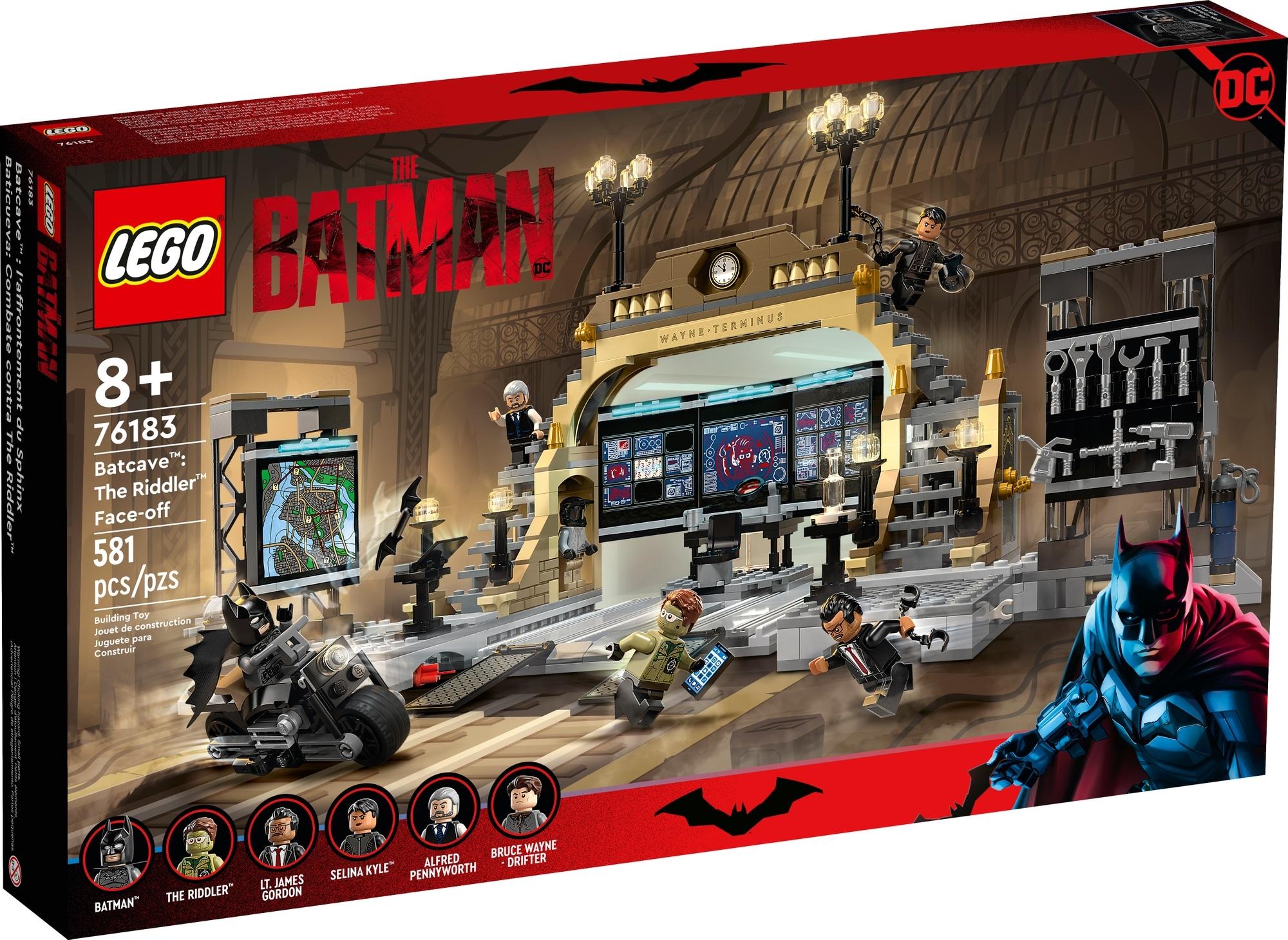 LEGO Dc 76183 Bathöhle Duell Mit Riddler 2