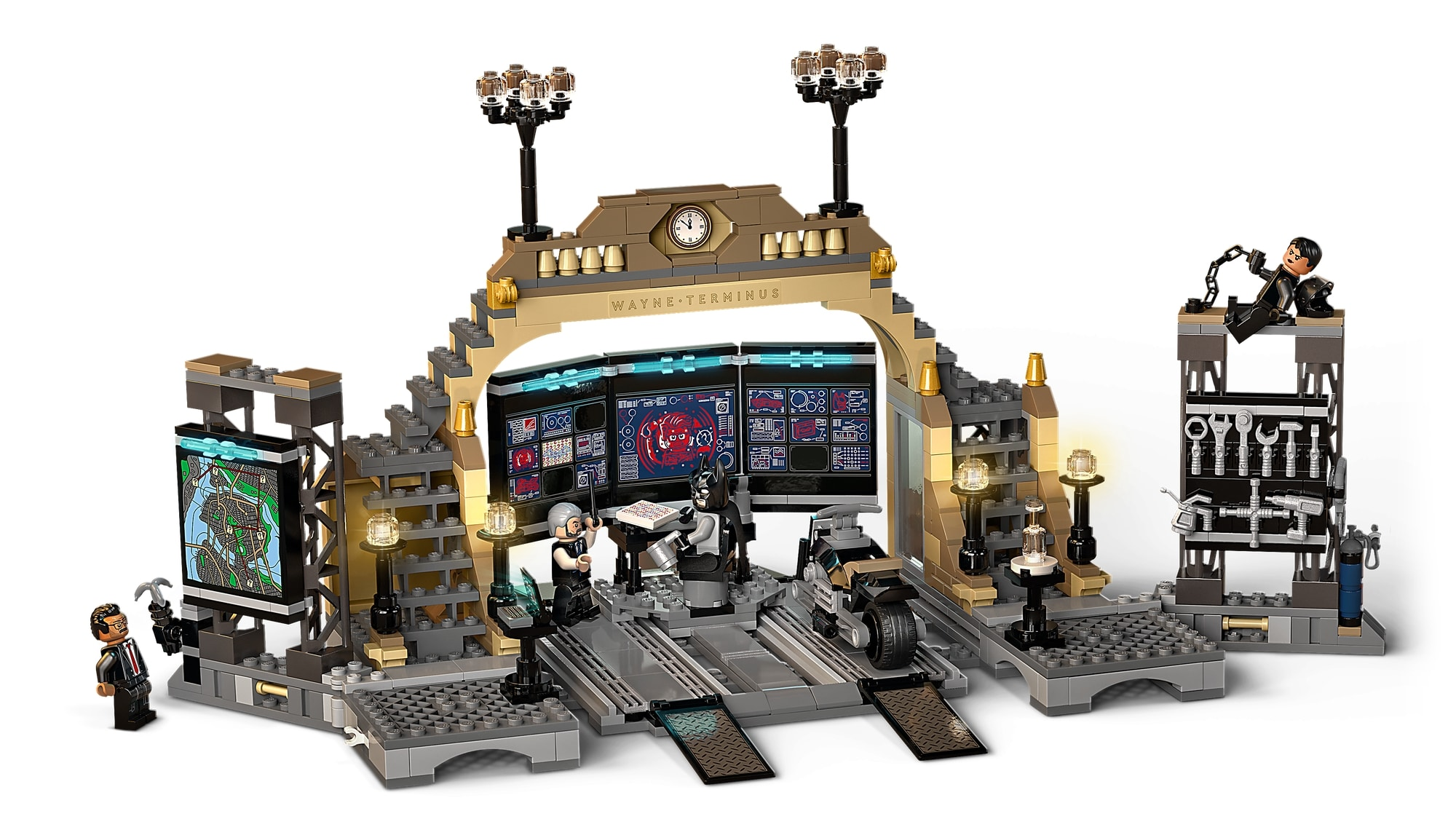 LEGO Dc 76183 Bathöhle Duell Mit Riddler 4