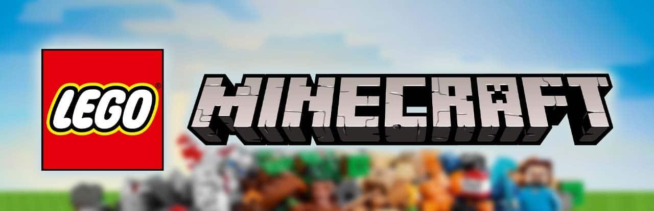 LEGO Minecraft Banner