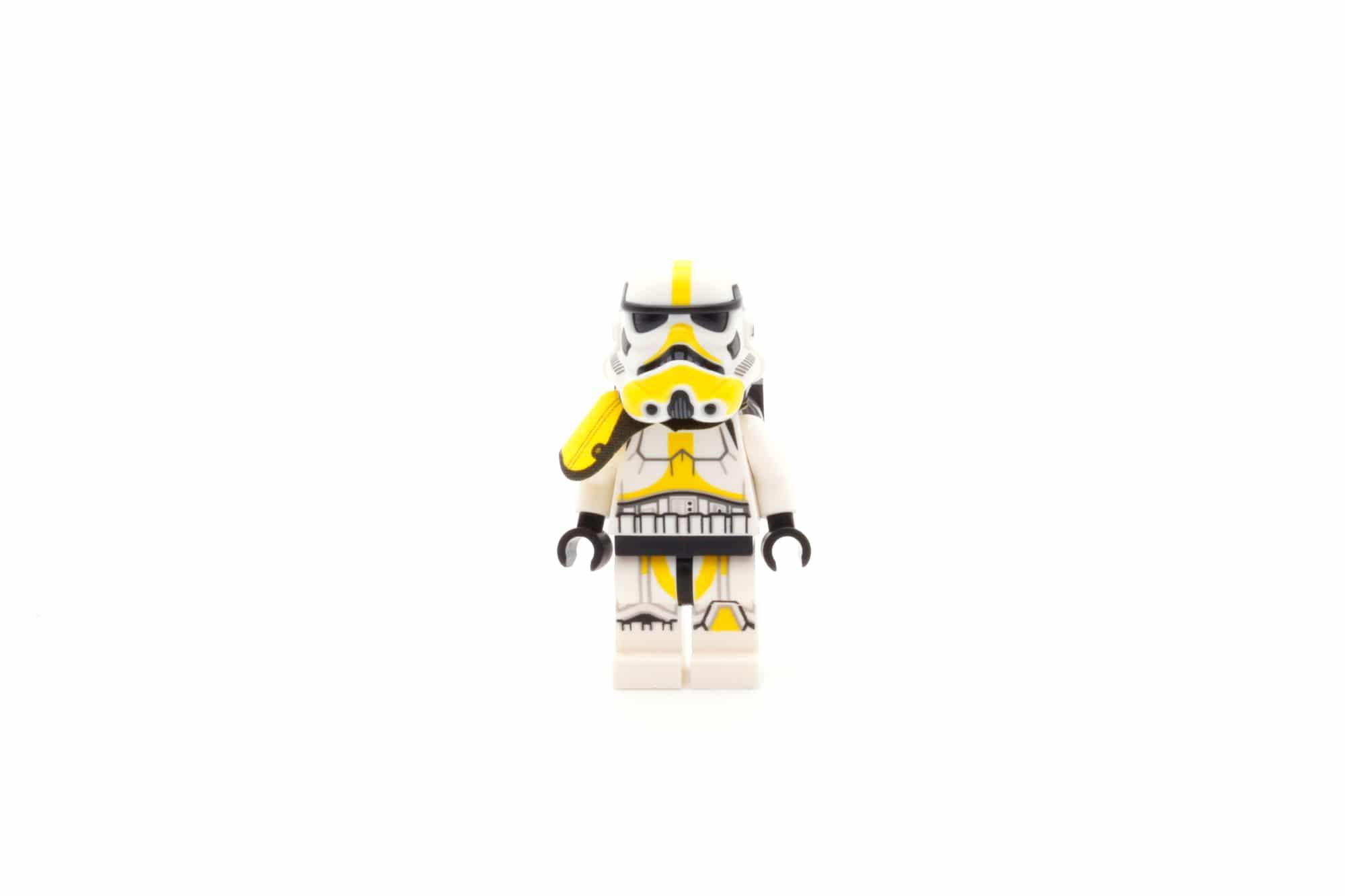 LEGO Star Wars 75311 Imperial Marauder Artillery Trooper Front Helmet
