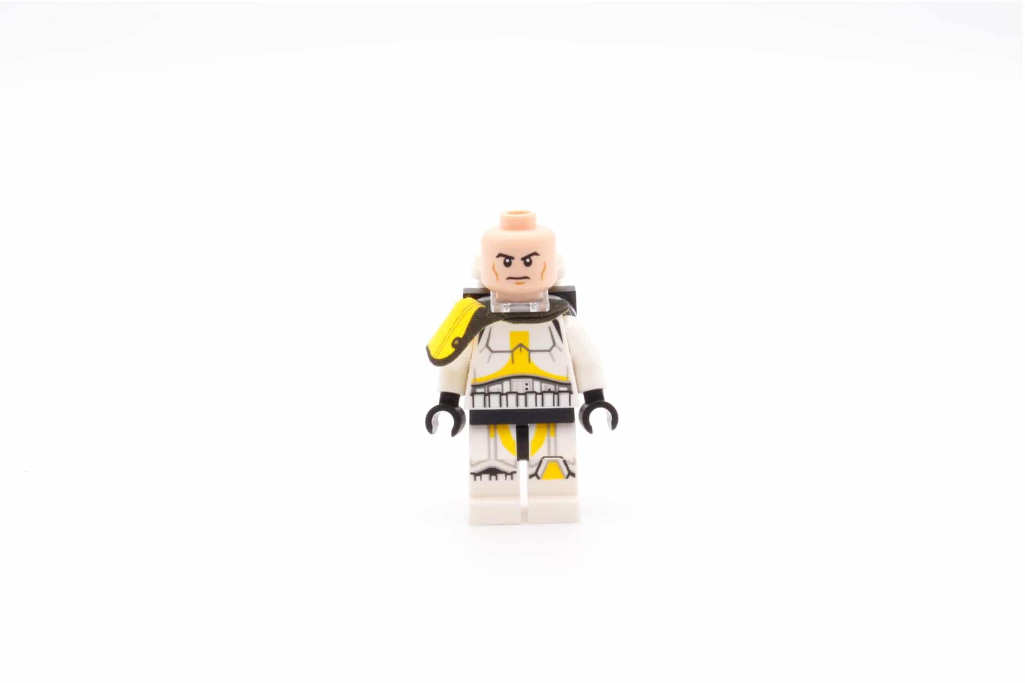 LEGO Star Wars 75311 Imperial Marauder Artillery Trooper Front Face