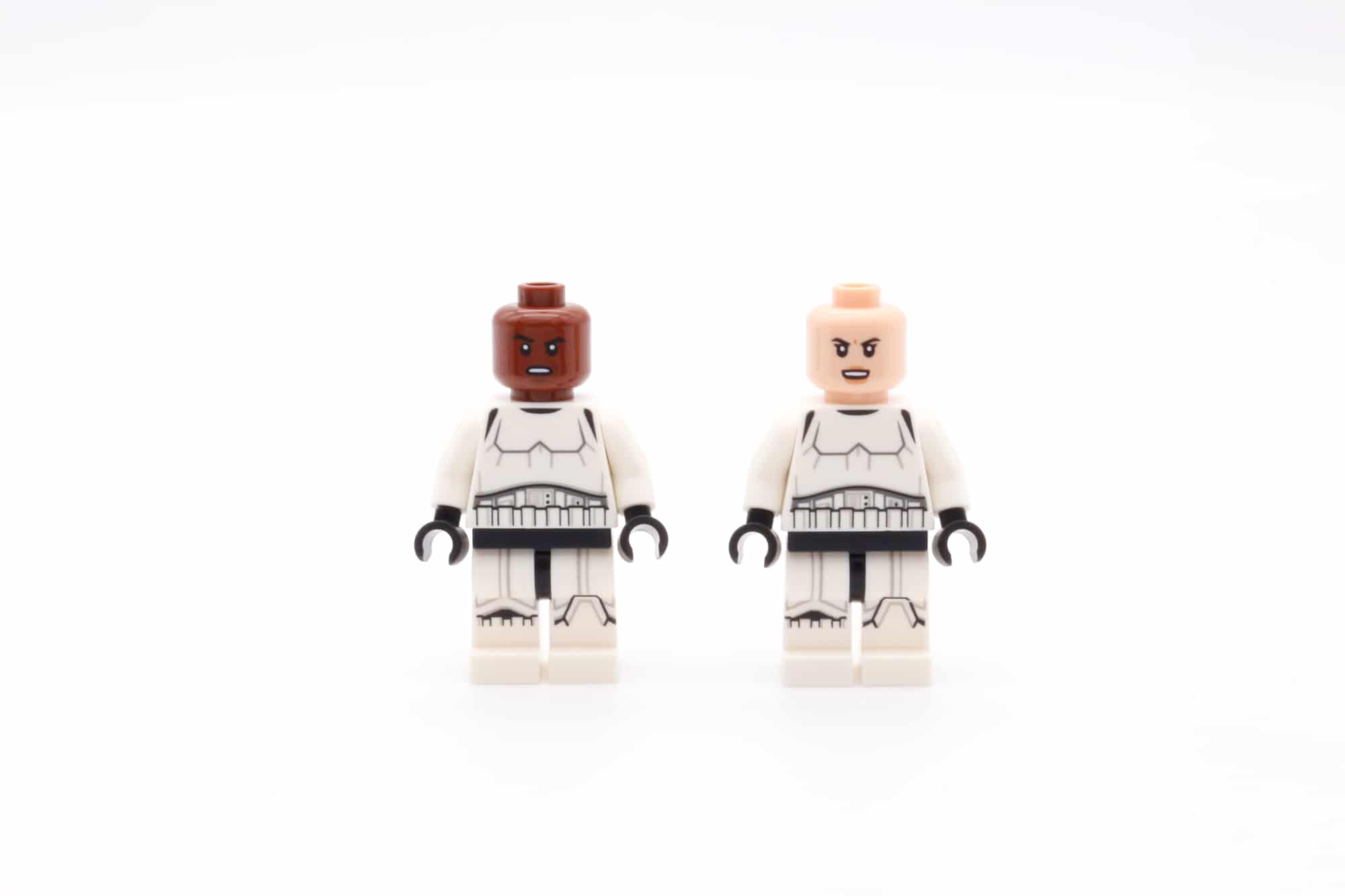 LEGO Star Wars 75311 Imperial Marauder Stormtroopers Front Face