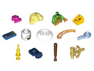 LEGO Steine Teile Oktober 2021 Titel