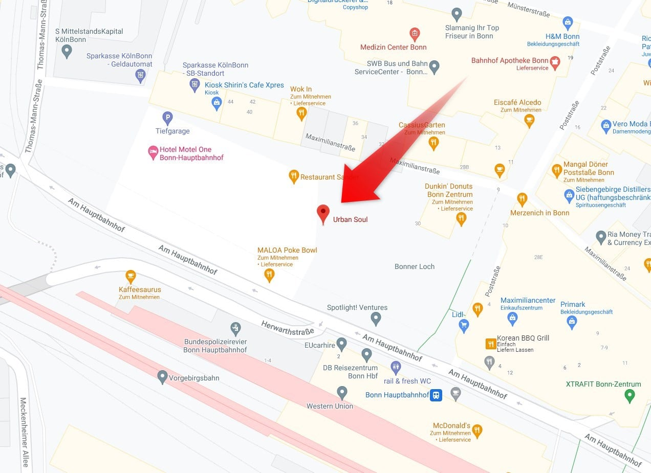 LEGO Store Bonn Lage Google Maps