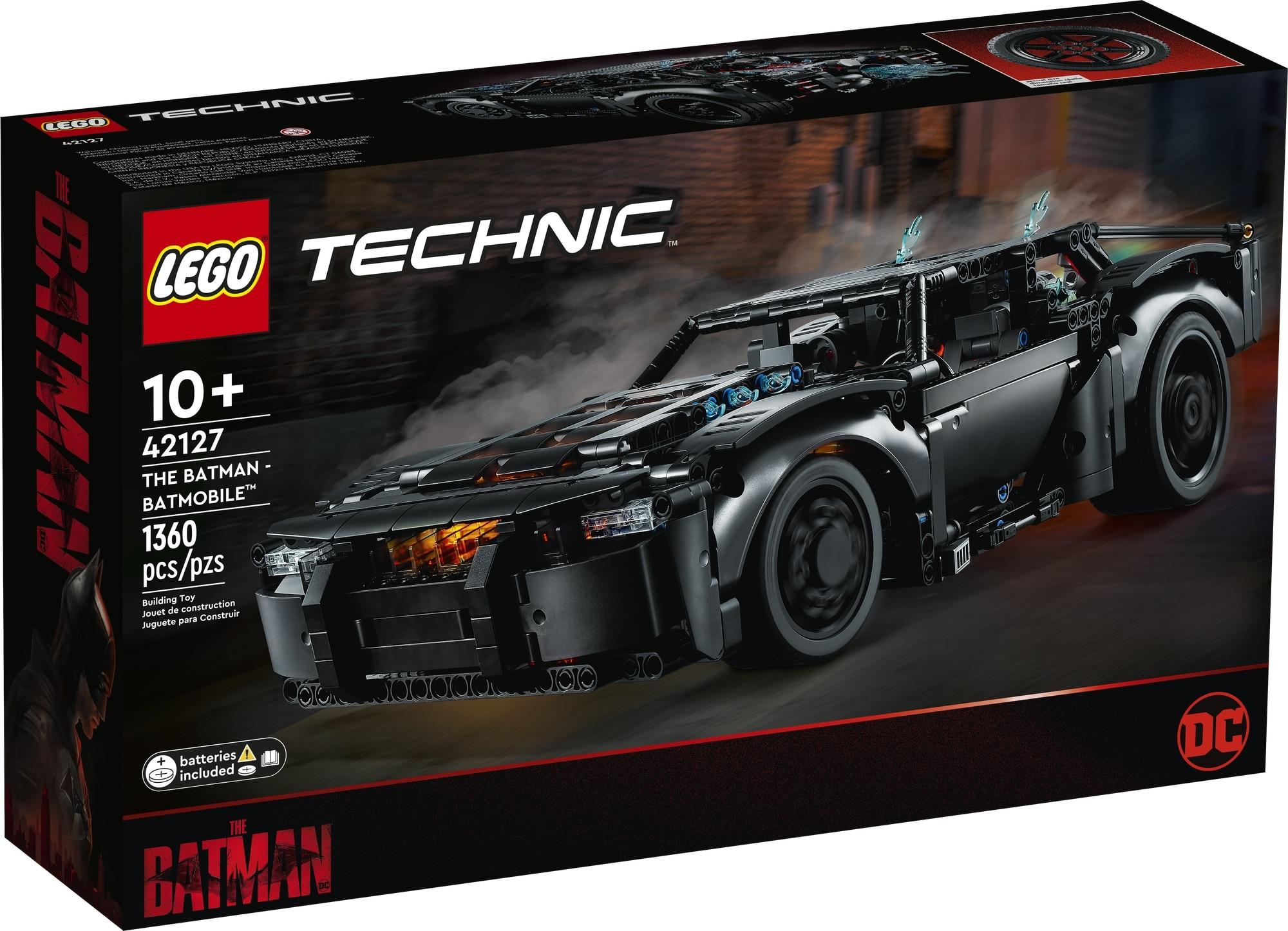 LEGO Technic 42127 Batmans Batmobil 2