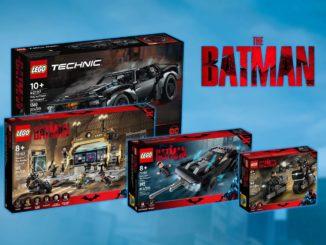 LEGO The Batman Sets 2021 Titel