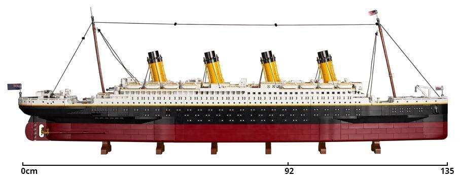 LEGO Titanic Cobi Titanic Vergleich 01