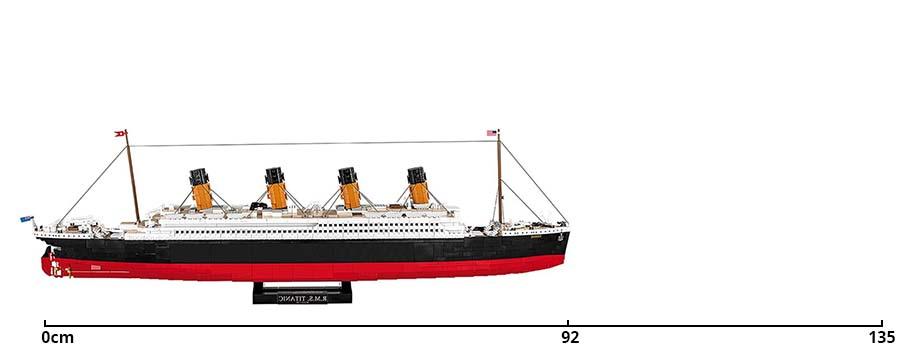 LEGO Titanic Cobi Titanic Vergleich 02