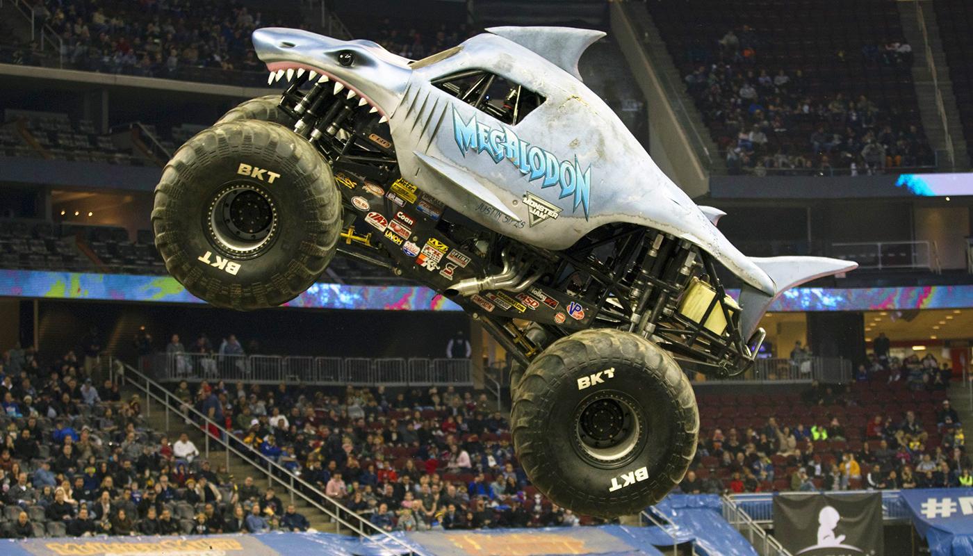 Monster Jam Megalodon 2 Dave Deangelis