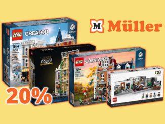 Müller LEGO Spielzeug Aktion 20 Rabatt Titel