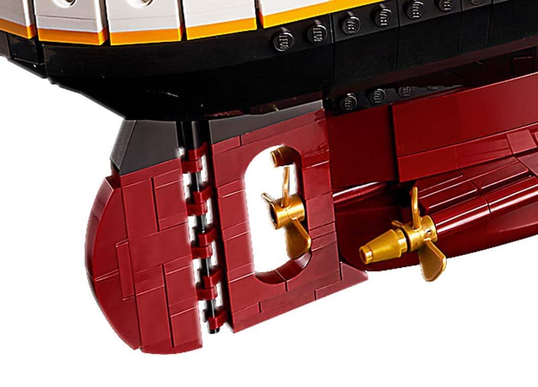 LEGO 10294 Titanic Neue Teile 01
