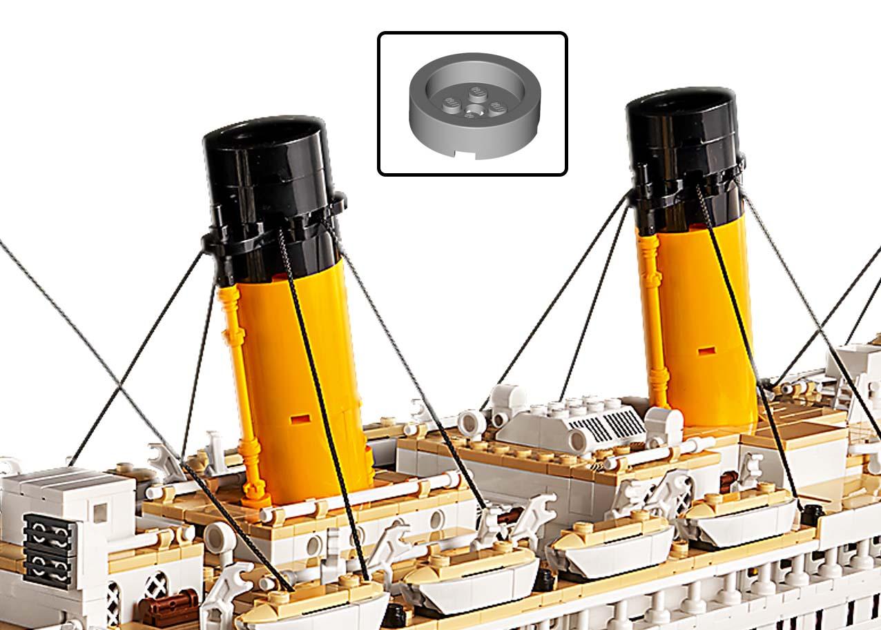 LEGO 10294 Titanic Neue Teile 03