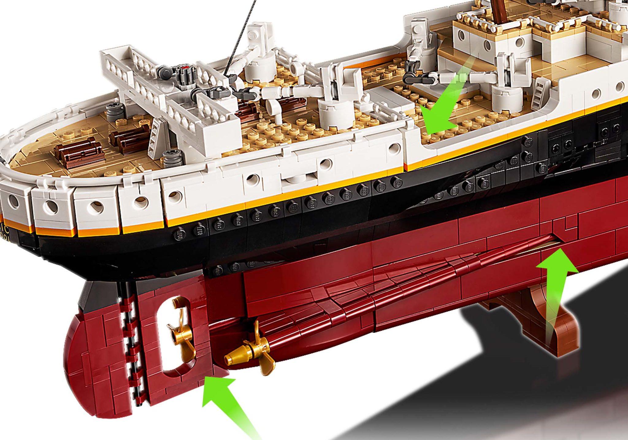 LEGO 10294 Titanic Neue Teile 04