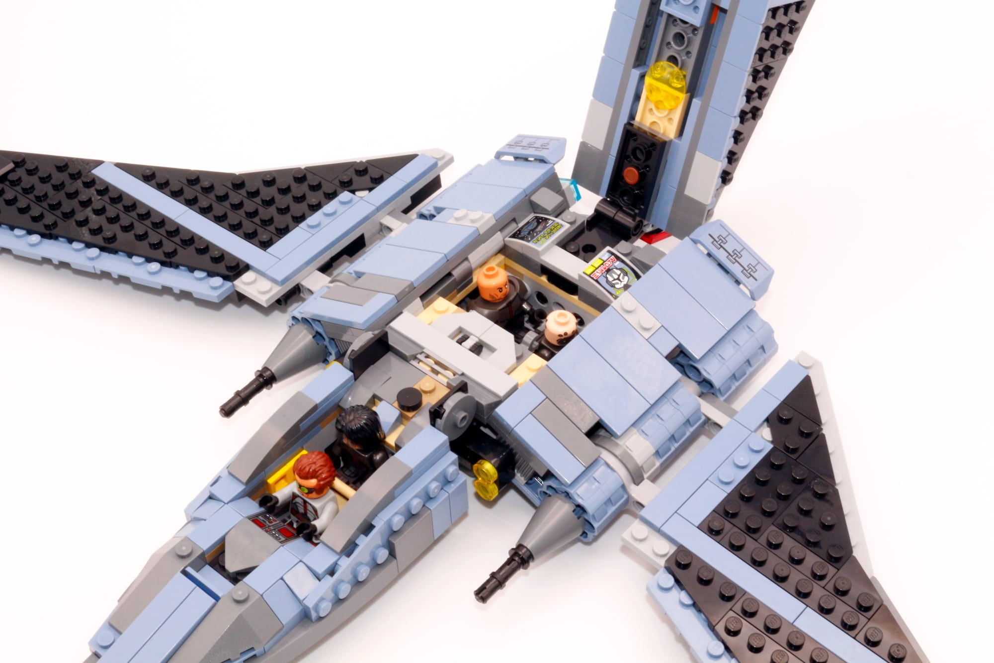 LEGO Star Wars 75314 The Bad Batch Attack Shuttle 15