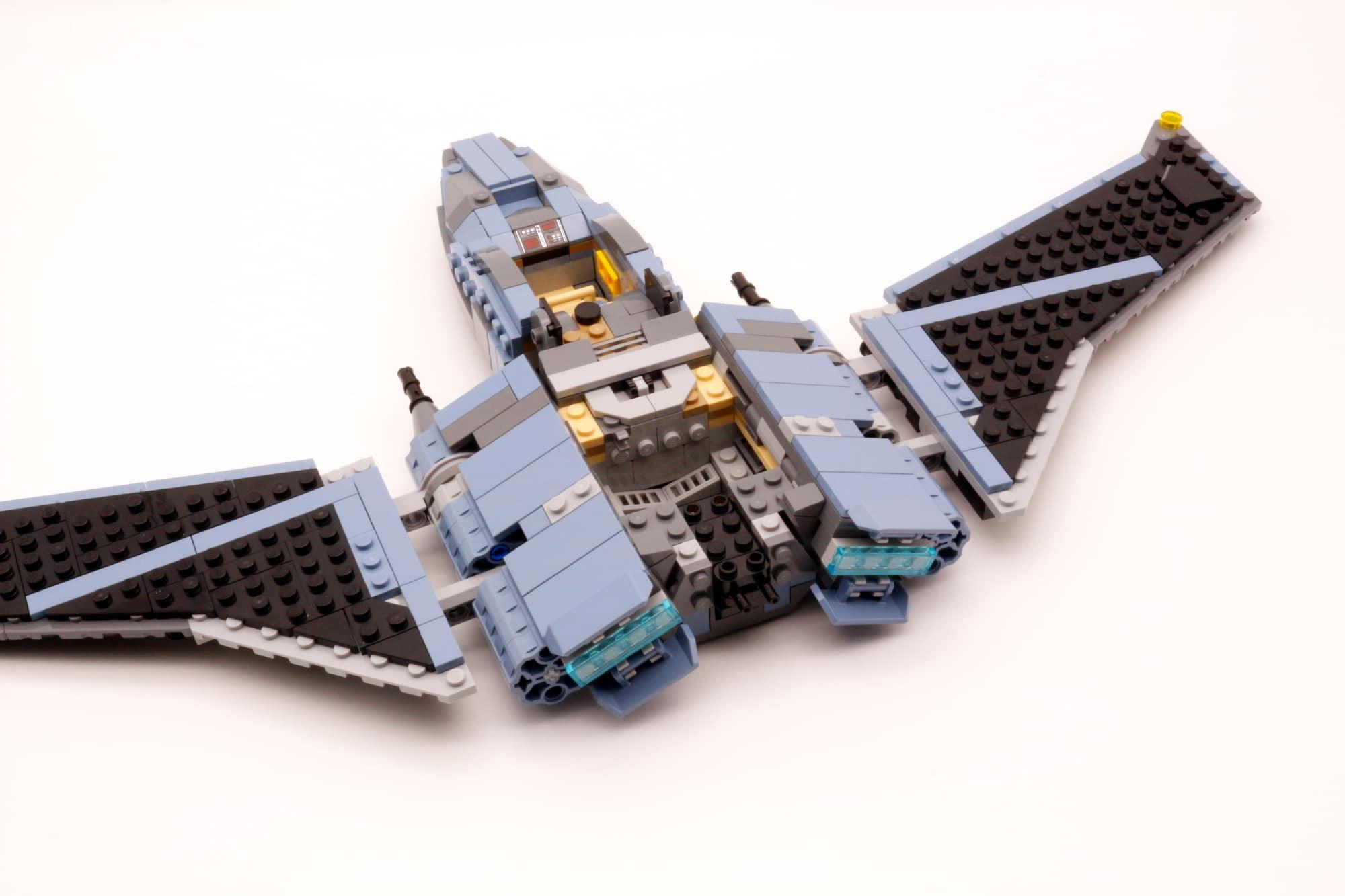 LEGO Star Wars 75314 The Bad Batch Attack Shuttle 7