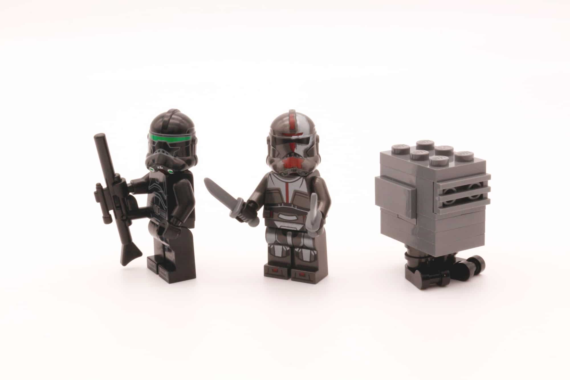 LEGO Star Wars 75314 The Bad Batch Attack Shuttle Bag 1 Minifiguren