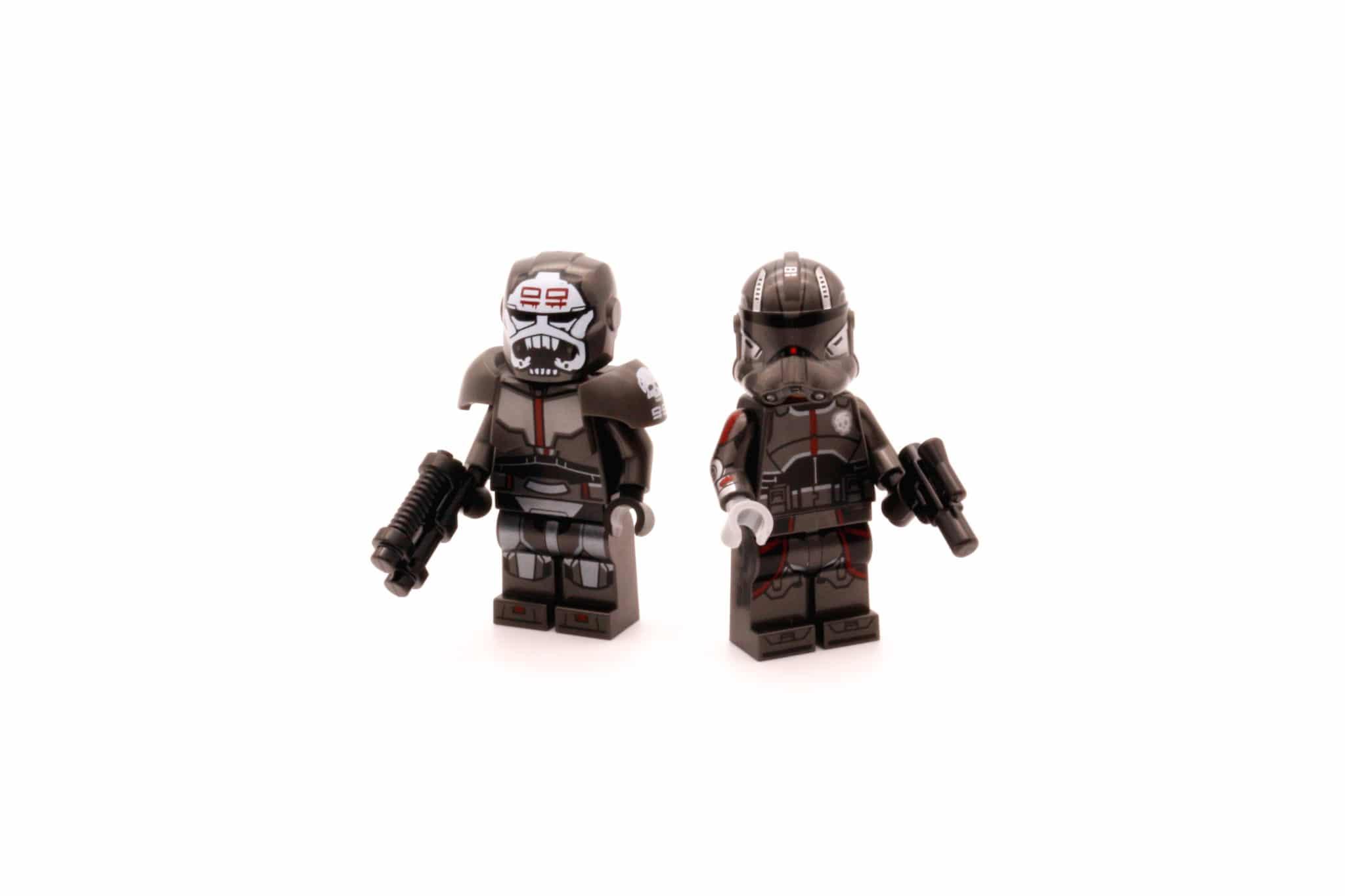 LEGO Star Wars 75314 The Bad Batch Attack Shuttle Bag 5 Minifiguren
