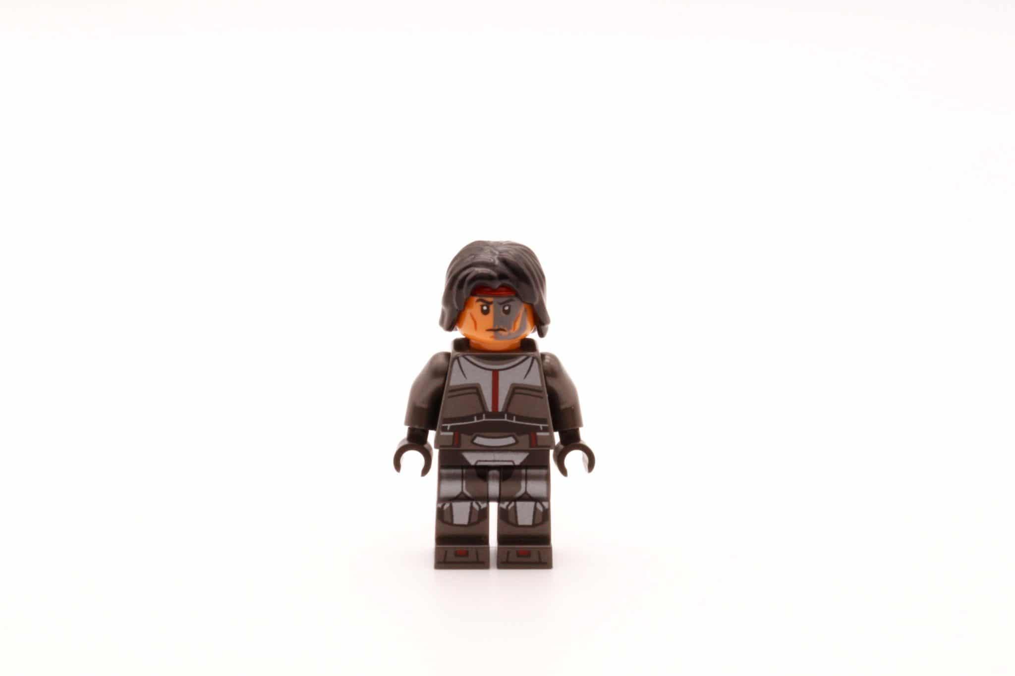 LEGO Star Wars 75314 The Bad Batch Attack Shuttle Hunter Haare
