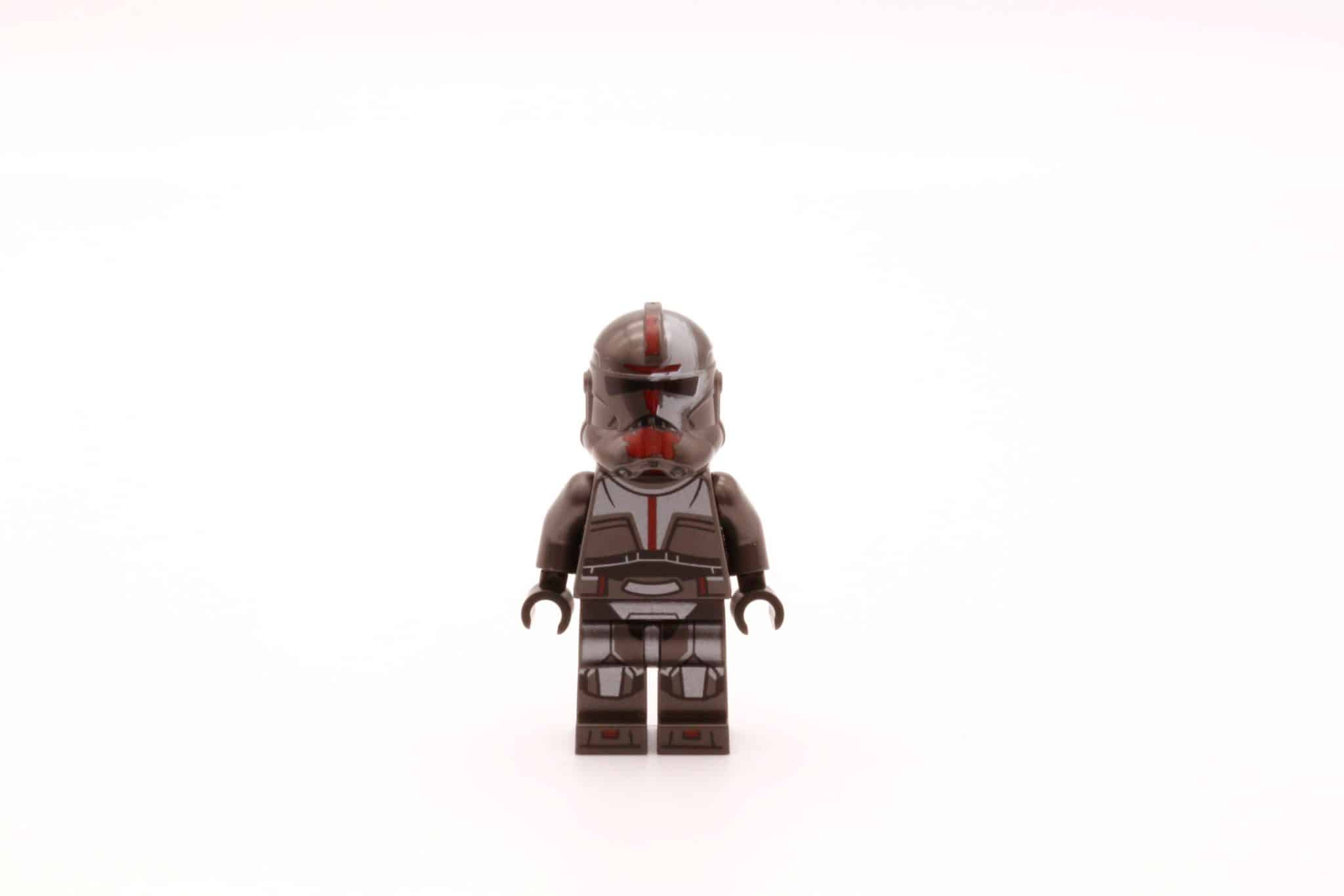 LEGO Star Wars 75314 The Bad Batch Attack Shuttle Hunter Helm