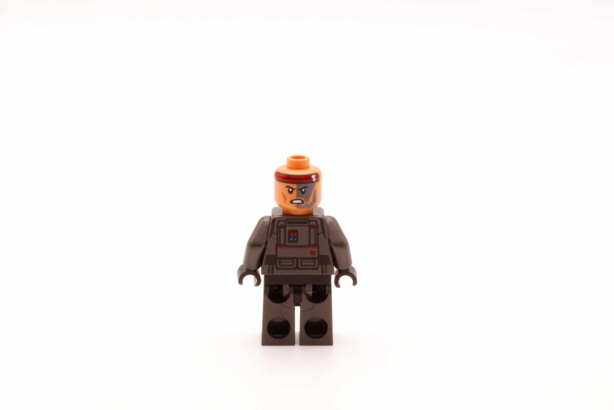 LEGO Star Wars 75314 The Bad Batch Attack Shuttle Hunter Wendegesicht