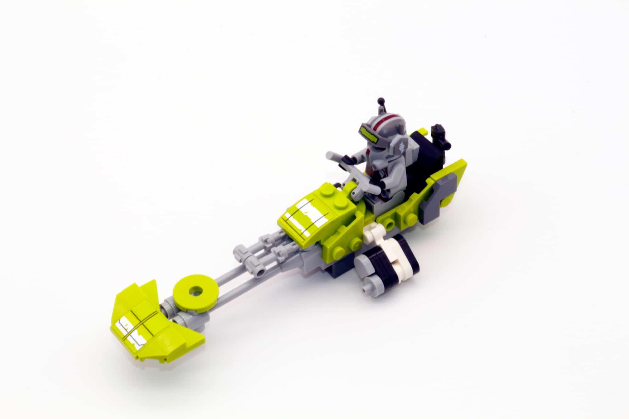 LEGO Star Wars 75314 The Bad Batch Attack Shuttle Speeder 2 mit Stickern