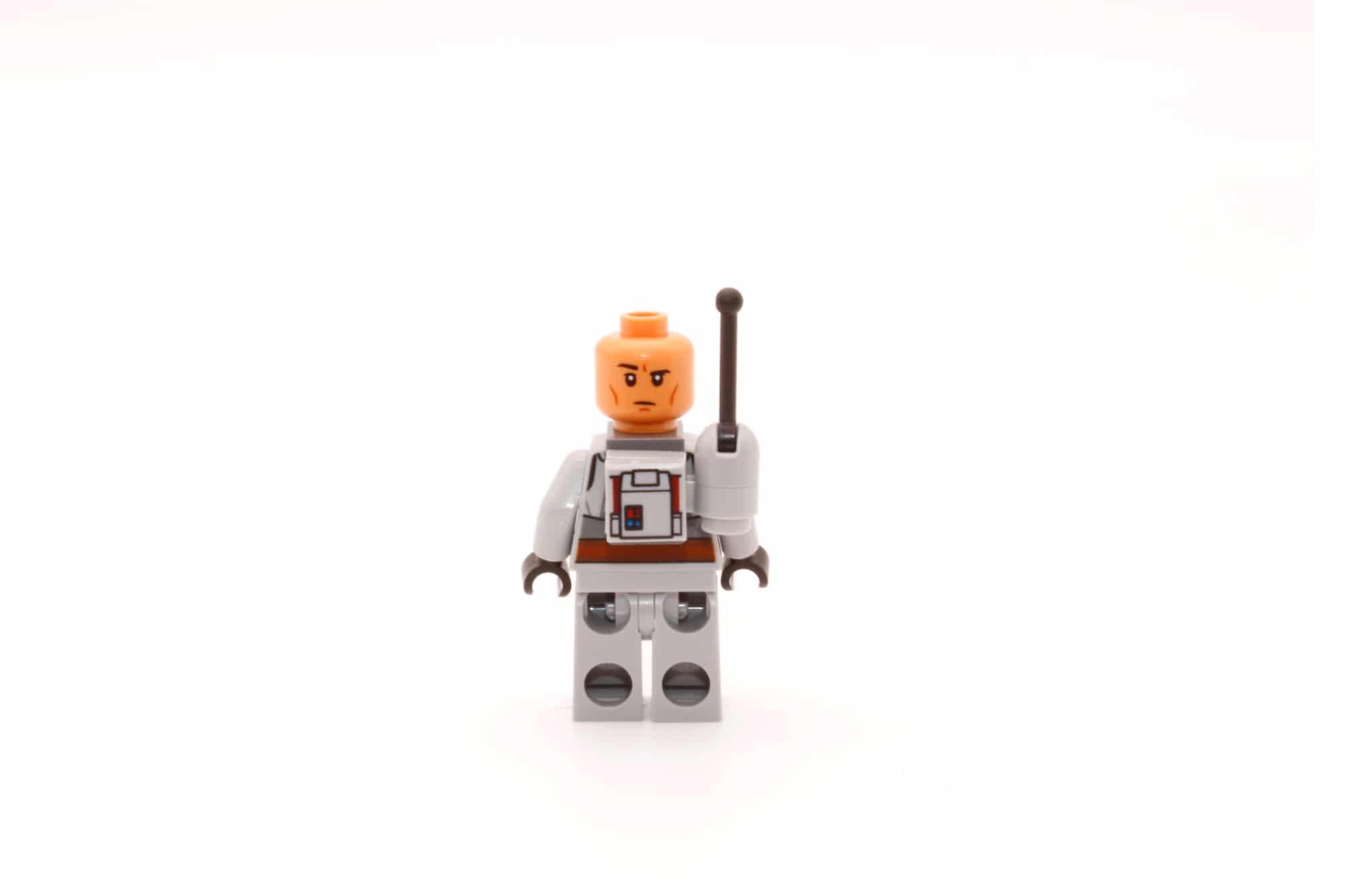 LEGO Star Wars 75314 The Bad Batch Attack Shuttle Tech Wendegesicht