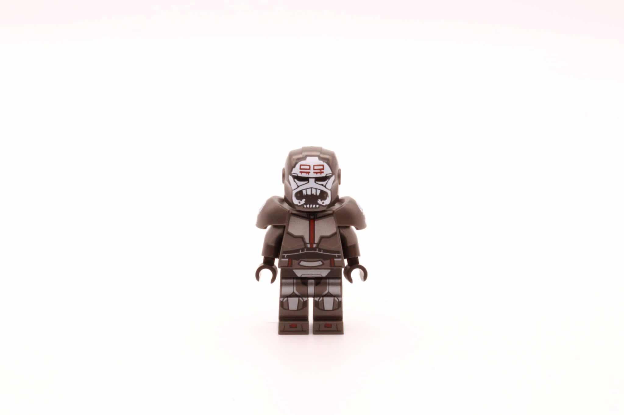 LEGO Star Wars 75314 The Bad Batch Attack Shuttle Wrecker Helm