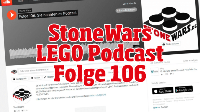 LEGO Podcast Folge 106
